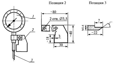 Прибор для измерения глубины подреза